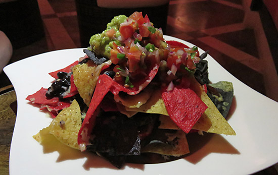 nachos at spice cap juluca
