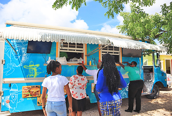 New Creations food van in the Valley