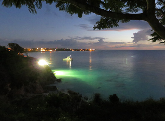 good night from malliouhana anguilla