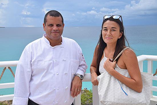 chef marc alvarez and nori at malliouhana