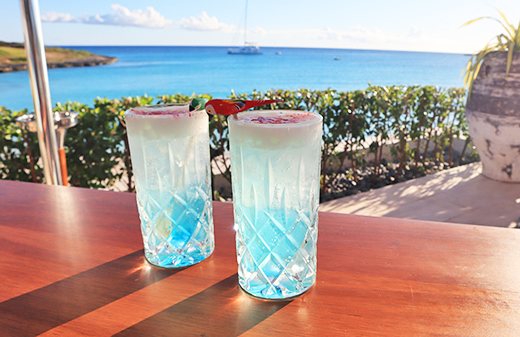 Nothin' Special drinks at Maundays Club at Belmond Cap Juluca
