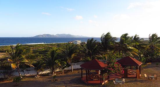 exterior of ocean terrace condos