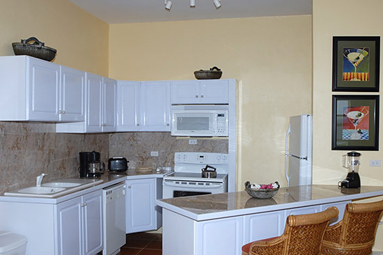 kitchen at ocean terrace condos