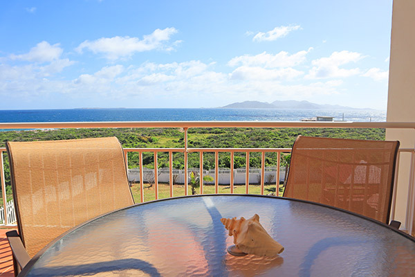 ocean terrace condos balcony
