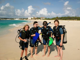 anguilla, diving, certification, meads bay