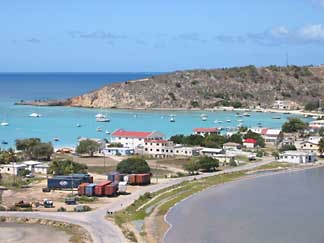 Sandy Ground Anguilla view