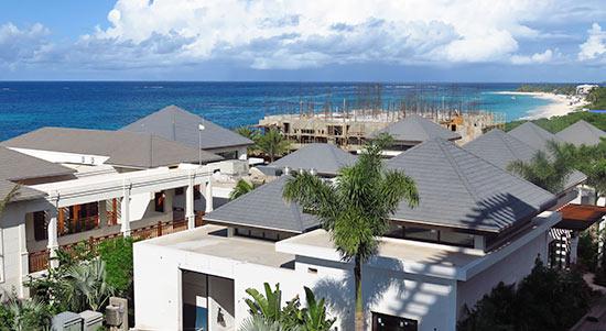overlooking zemi beach resort property