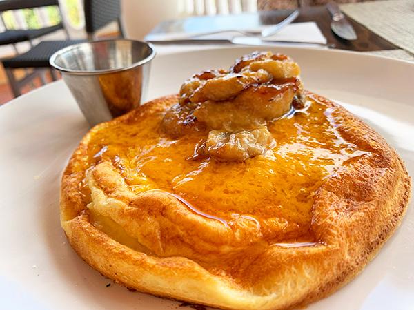 Pannukakku Pancakes at ember
