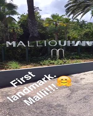 passing malliouhana as we get to long bay beach