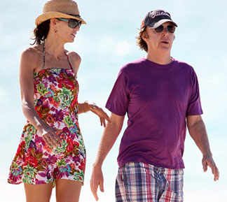 paul mccartney anguilla beach