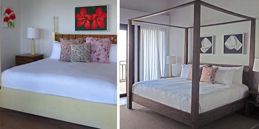 penthouse suite bedrooms at zemi beach