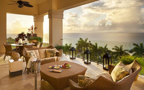 penthouse terrace at quintessence hotel