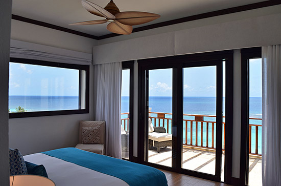 penthouse suite views at zemi beach house