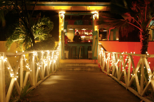 entrance to picante restaurant