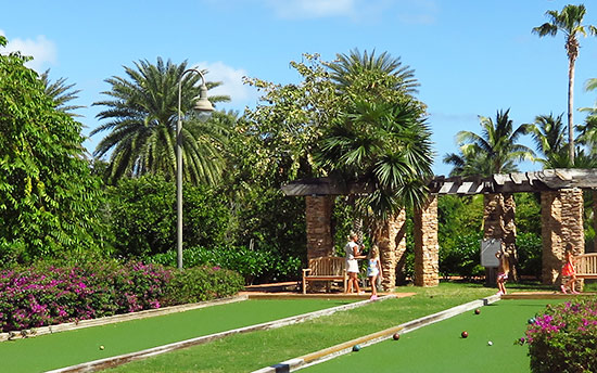 bocce at cuisinart