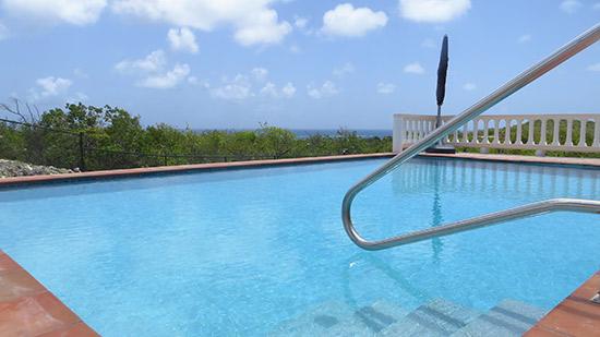 the pool at kiki villa