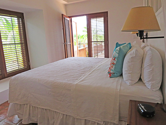 master suite inside coconut palm at twin palms villas