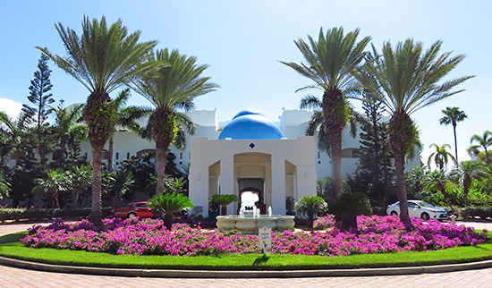 cuisinart golf resort and spa entrance