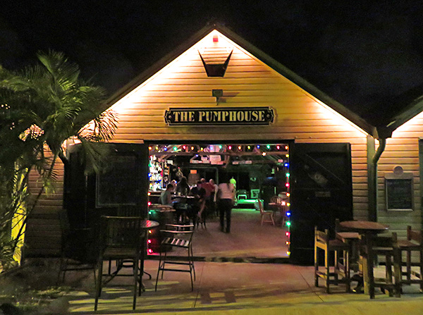 the famous pumphouse restaurant in anguilla
