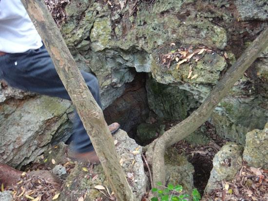 entrance to katouche cave
