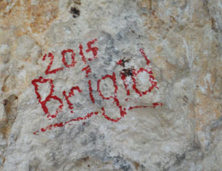 vandalism at cavannagh cave in anguilla
