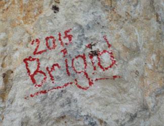 vandalism at cavannagh cave in anguilla