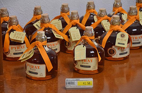 pyrat rum at albert lakes anguilla