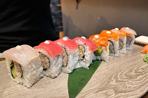 Rainbow Roll at Little Bamboo