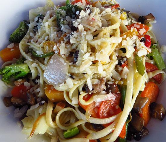 rasta pasta from ocean echo