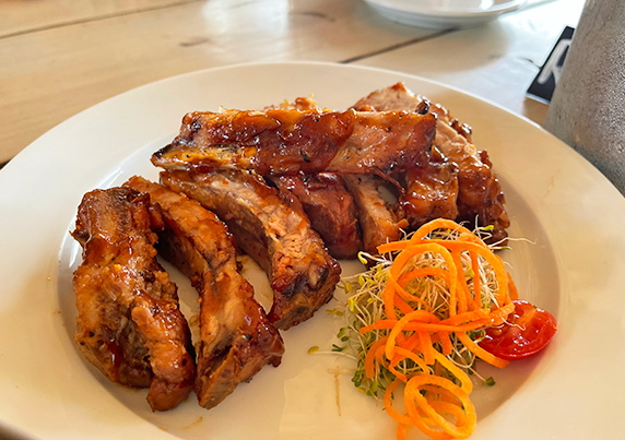 Ribs Appetizer at Yellow Beach