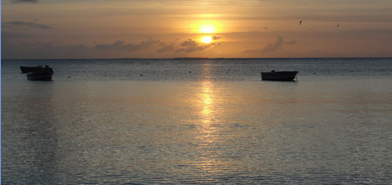 crocus bay sunset