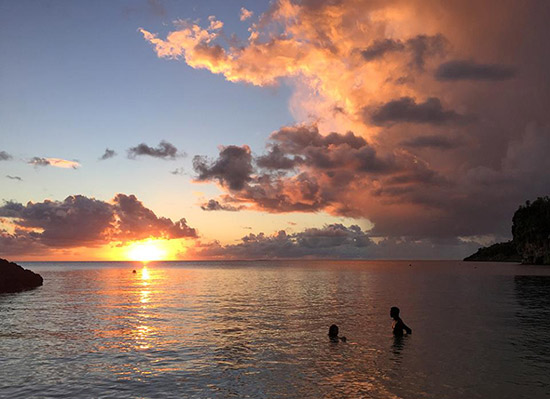 romantic honeymoon sunsets in anguilla