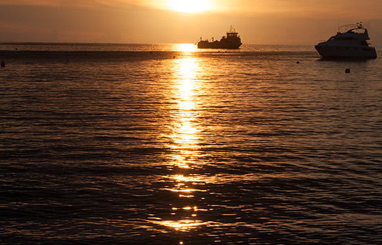 Sandy Ground sunset Anguilla