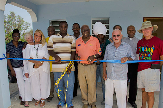 tyrone house completed by rotary club of anguilla