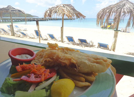 roys fish and chips anguilla
