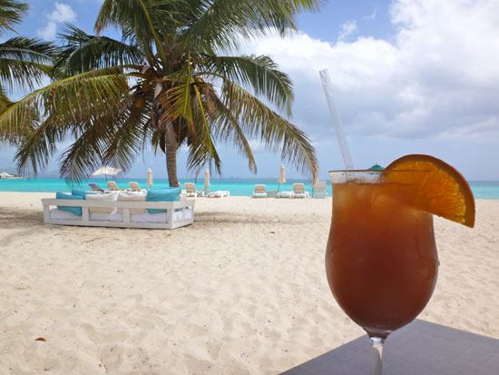 rum punch at the place