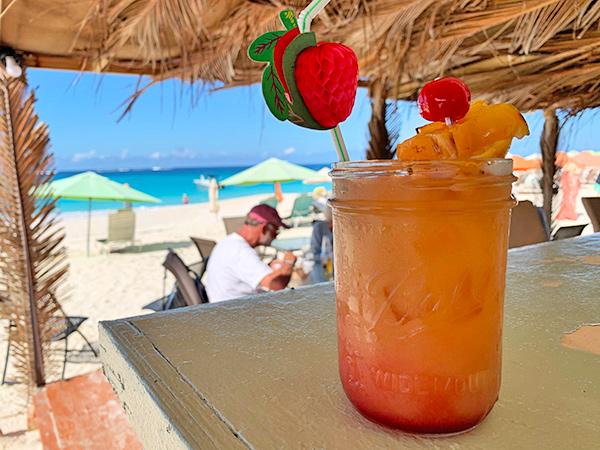 Rum Punch at Olas Tacos Bar & Grill