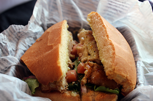 Ruthys fish sandwich