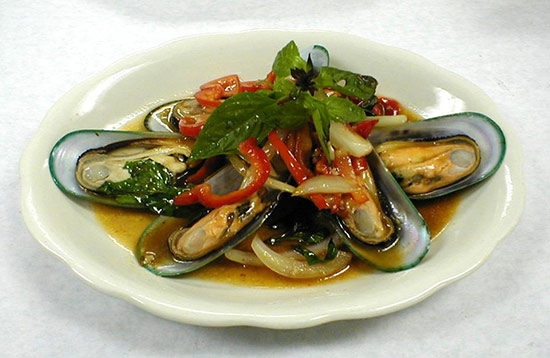 mussels at ruthys yum yum