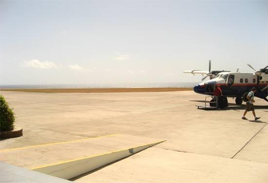 saba airport