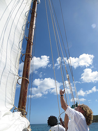 tradition sailing charter main sheet anguilla
