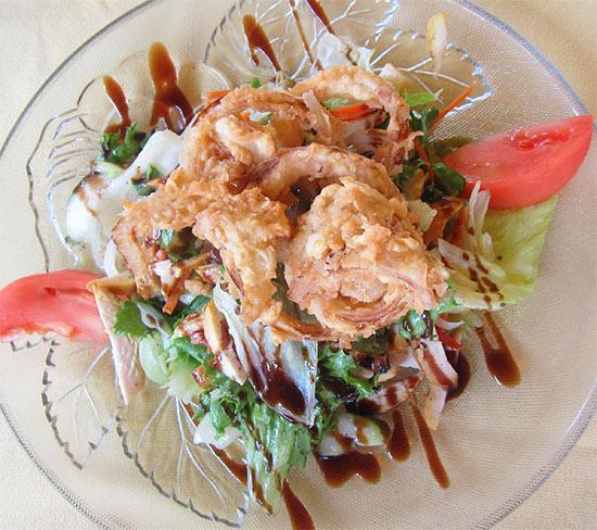Anguilla salad