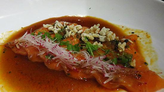 salmon nori at tokyo bay
