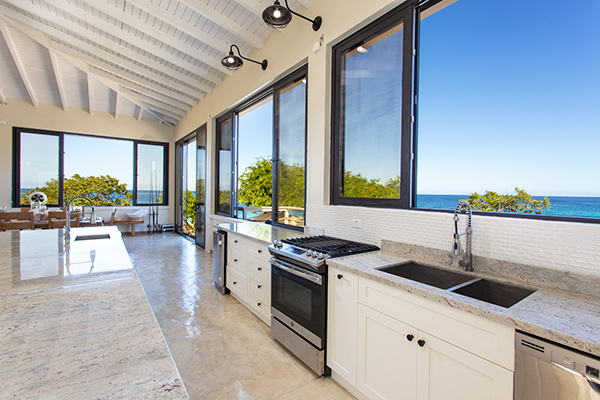 Kitchen at Sand Castle: The Beach House