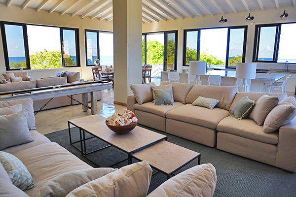 sandcastle villa the beach house anguilla