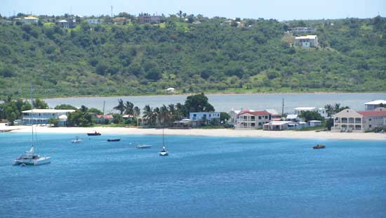 Sandy Ground village has one of the most picturesque, working-port beaches in Anguilla
