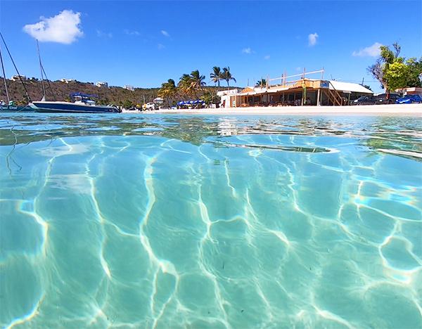 Anguilla restaurant, Johnno's, beach bar