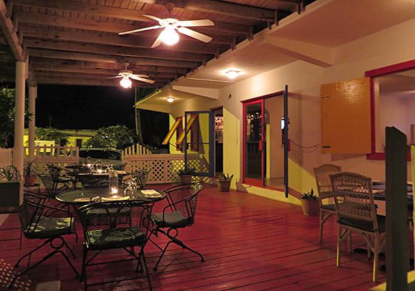sarjais outdoor terrace