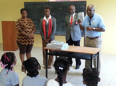 school dictionaries and the rotary club of anguilla