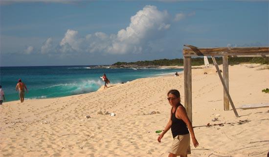 Anguilla sailing camping